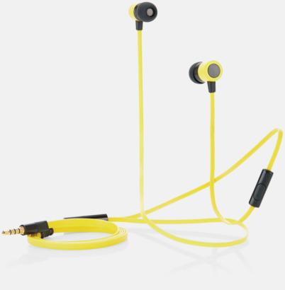 In-ear hörlurar med mikrofon - med reklamtryck