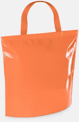 Orange Kylpåse i laminerad non woven med reklamtryck
