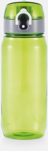 Grön BPA-fria sportflaskor med reklamtryck