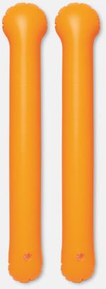 Orange Roliga, uppblåsbara trumpinnar med reklamtryck