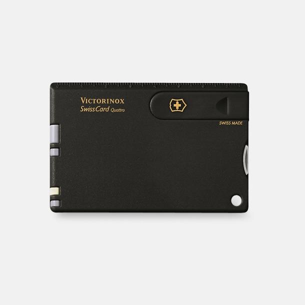 Svart Victorinox SwissCard Quattro