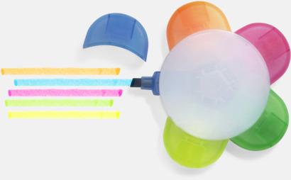 Smart överstrykningspenna i fem färger