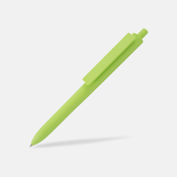 Limegrön Läckra bläckpennor med reklamtryck