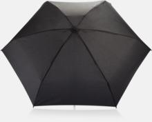 "19,5""-paraplyer i återvunnet material med reklamtryck"