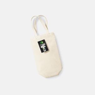 Vinpåsar i Fairtrade-certifierad bomull med reklamtryck