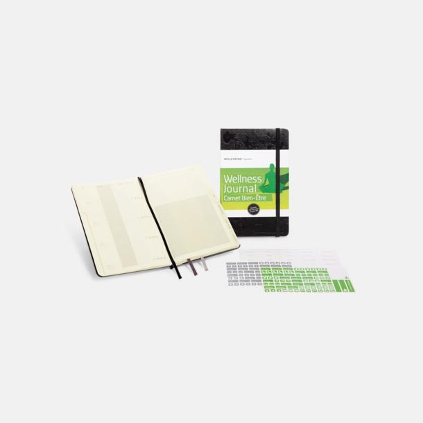 Wellness Journal (2) Anteckningsböcker i massor av olika entusiastteman