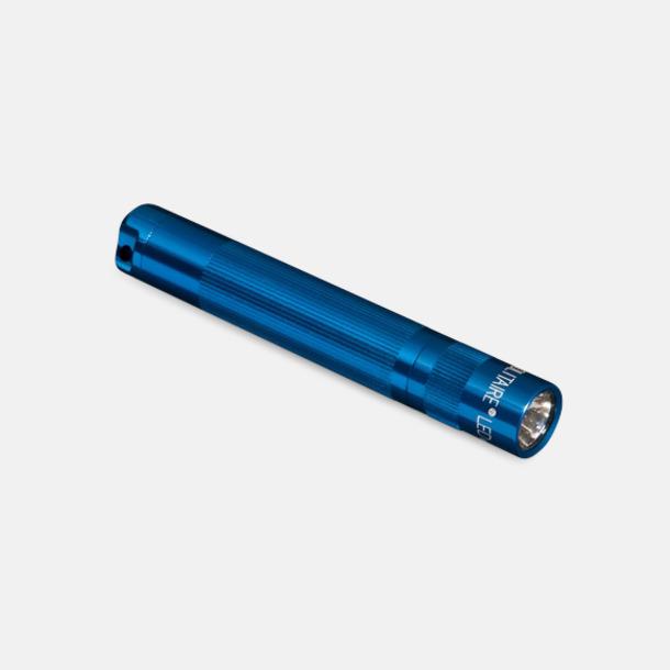 Klarblå (2) Maglite solitare med egen gravyr