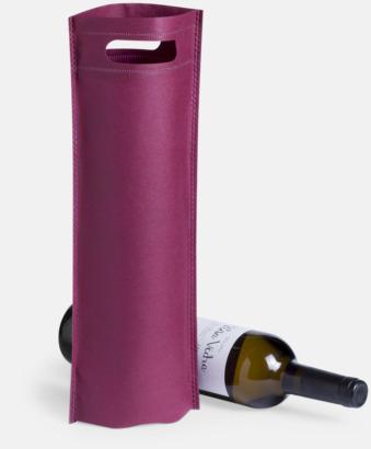 Vinpåsar i non-woven med reklamtryck