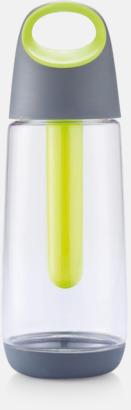 Grön Hållbar miljövattenflaskor med reklamtryck