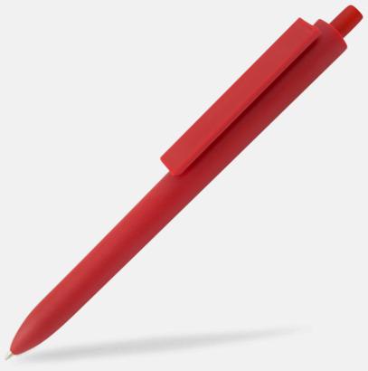 Röd Läckra bläckpennor med reklamtryck
