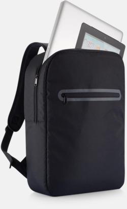 Stilrena, PVC-frita laptopryggsäckar med reklamtryck