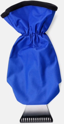 Blå / Svart Isskrapa med handske