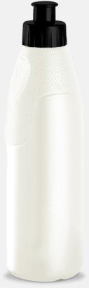 Vit pärlemor Ladynette - Vattenflaskor med tryck