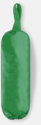 Grön Plastpåseförvaring med reklamtryck