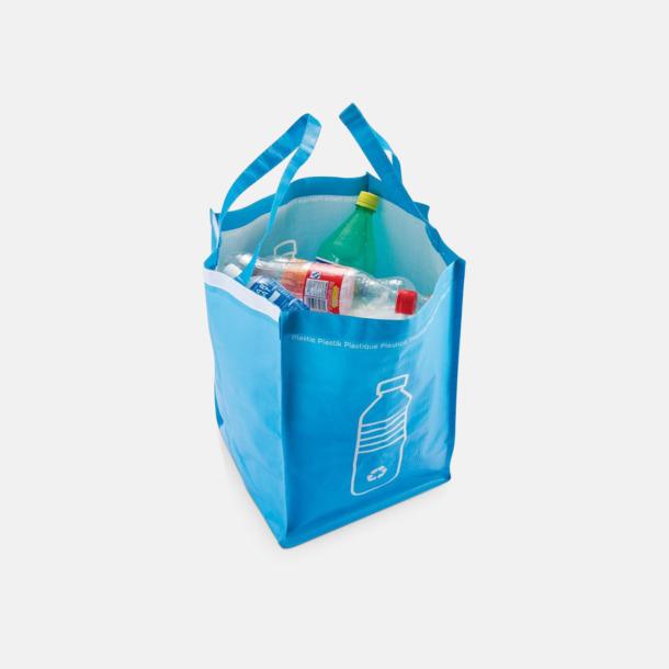 PVC-fria återvinningskassar med reklamtryck