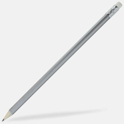 Silver Blyertspennor som kan expresslevereras med reklamtryck