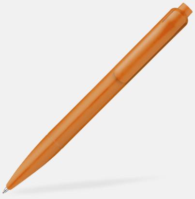 Fram (orange) Kulspetspennor i matt finish med reklamtryck