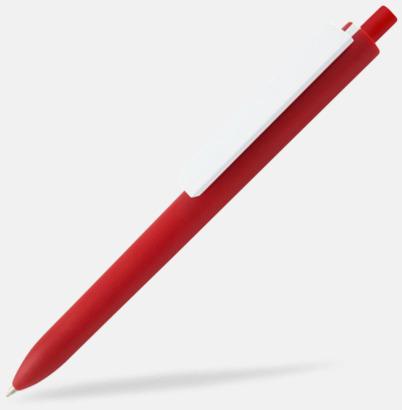 Röd / Vit Läckra bläckpennor med reklamtryck