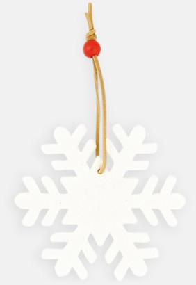Snöflinga Julhängare med reklamtryck