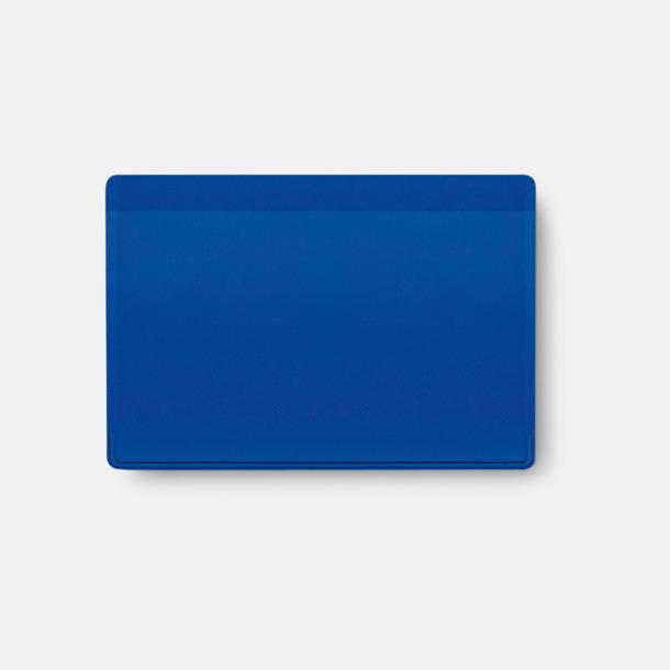 Blå Korthållare med reklamtryck
