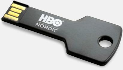 Svart USB minne nyckel