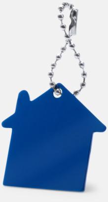 Blå Kulkedja med husfigur med reklamtryck