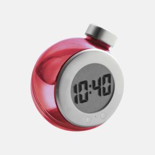 Vattendrivna klockor med reklamtryck