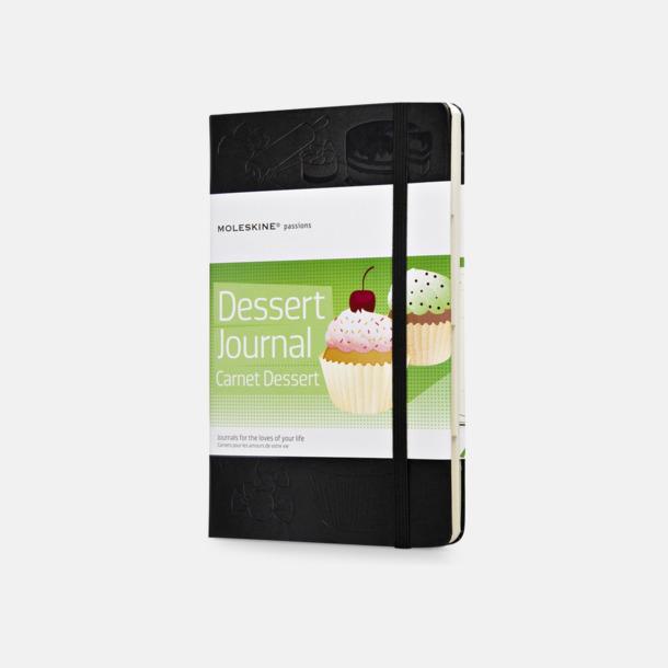 Dessert Journal Anteckningsböcker i massor av olika entusiastteman
