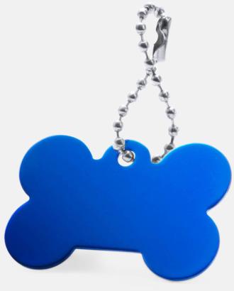 Blå Kulkedja med hundbensfigur med reklamtryck