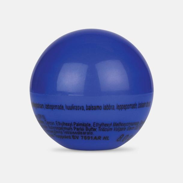 Blå Bollformade läppcerat med reklamtryck