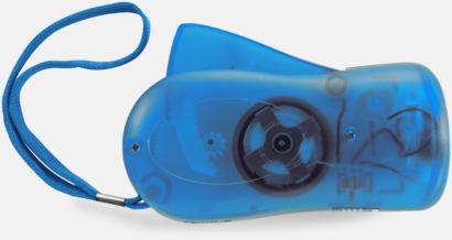 Blå Miljövänliga ficklampor med eget tryck