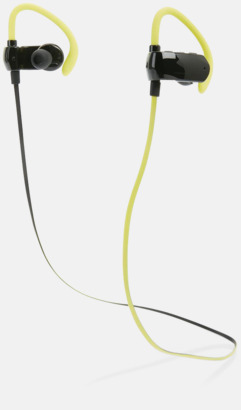 Trådlösa bluetooth hörlurar med reklamtryck