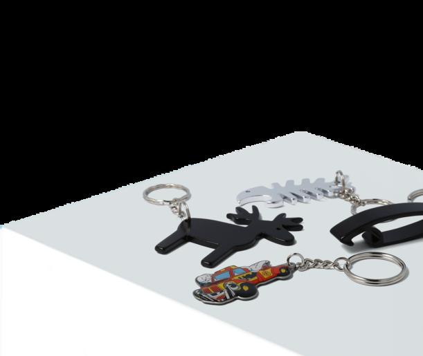 Nyckelringar med tryck av egen logo 87d5912eeb094