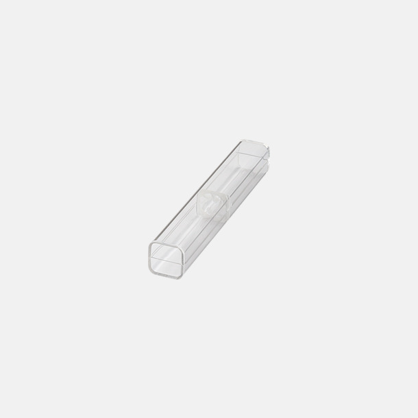 Enkelt plastfodral (se tillval) Bläckpennor med blanka, opaka kroppar - med reklamlogo