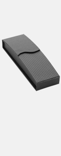 Magnetstängning svart (se tillval) Bläckpennor med blanka, opaka kroppar - med reklamlogo
