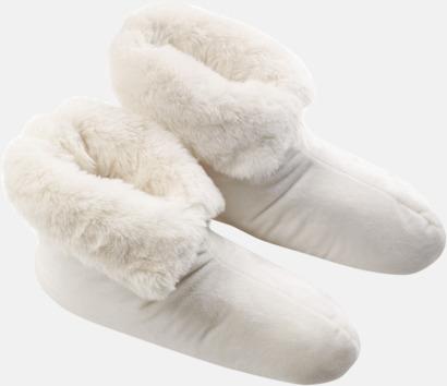 Polar Bear Lyxiga innetofflor från Newport i pälsimitation