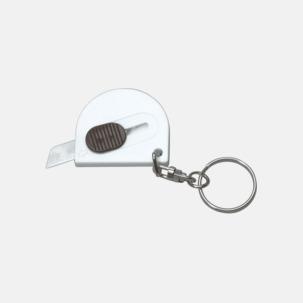 Små brytbladsknivar med nyckelringar - med reklamtryck