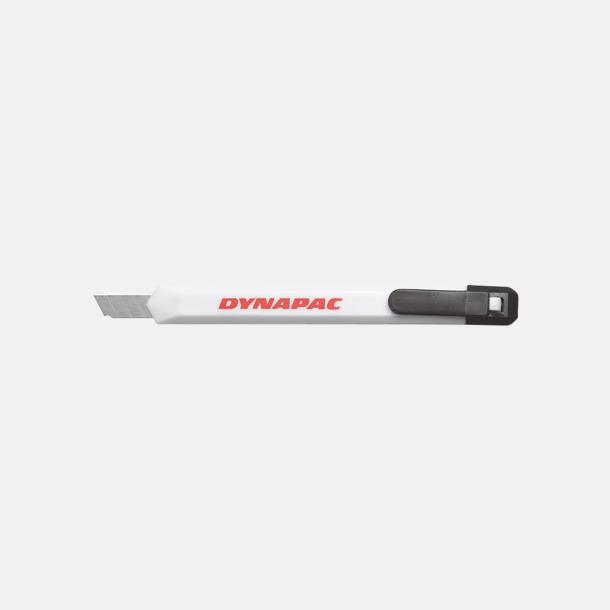 Vit Brytkniv med tryck - klassisk brytkniv med egen logo