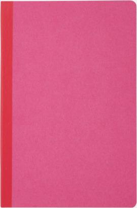 Rosa Linjerade A5-böcker med reklamtryck