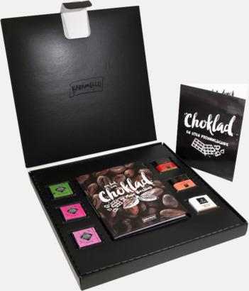 Ask & innehållshäfte Lyxiga chokladprovningsaskar från Maja Berthas