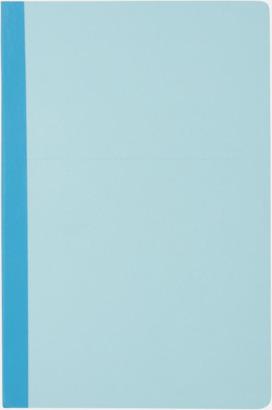 Blå Linjerade A5-böcker med reklamtryck