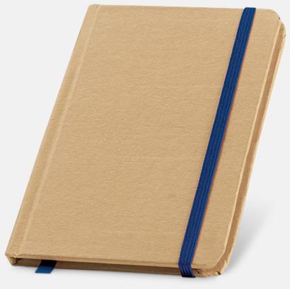 Natur / Blå Miljövänliga notisböcker med reklamtryck