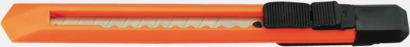 Orange Brytkniv med tryck - klassisk brytkniv med egen logo
