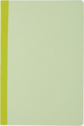 Grön Linjerade A5-böcker med reklamtryck