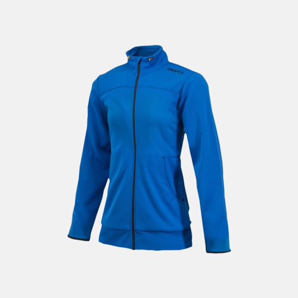 Sweden Blue Leisure Jacket (dam) Craft funktionsjacka med huva i herr- och dammodell med reklamtryck