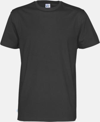 Svart (herr) Multicertifierade t-shirts med reklamtryck