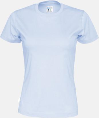 Sky (dam) Multicertifierade t-shirts med reklamtryck