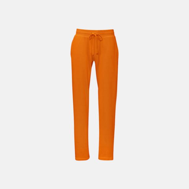 Orange (herr) Eko & Fairtrade mjukisbyxor med reklamtryck