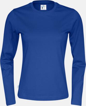 Royal (dam) Långärmade eko t-shirts med reklamtryck