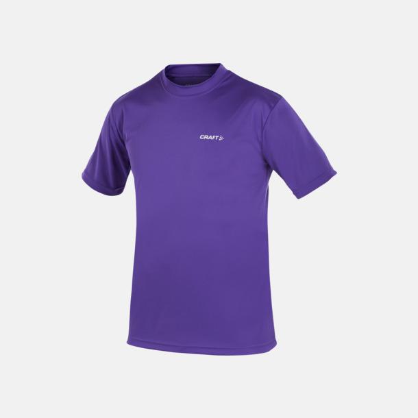 Vision (herr) Funktion t-shirts från Craft med reklamtryck